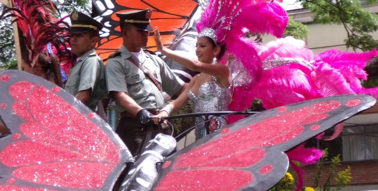 Desfile reinas