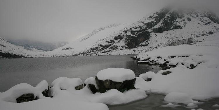 Asturias, lago Enol