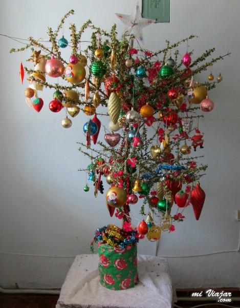 chamizo de navidad, tradiciones en Colombia